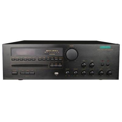 MP7812 60W-350W 2 Zona All in One Mixer Amplifier dengan CD / DVD / MP3 / Tuner