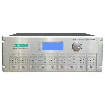 DA8006 60W-300W 8 Channel Digital Amplifier