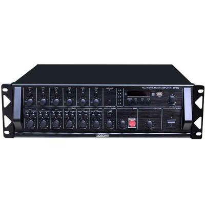 MP812 6 Zona Bluetooth Mixer Amplifier