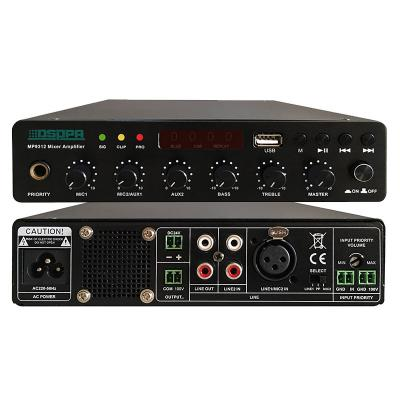 MP9312 120W Ultra-tipis Digital Mixer Amplifier