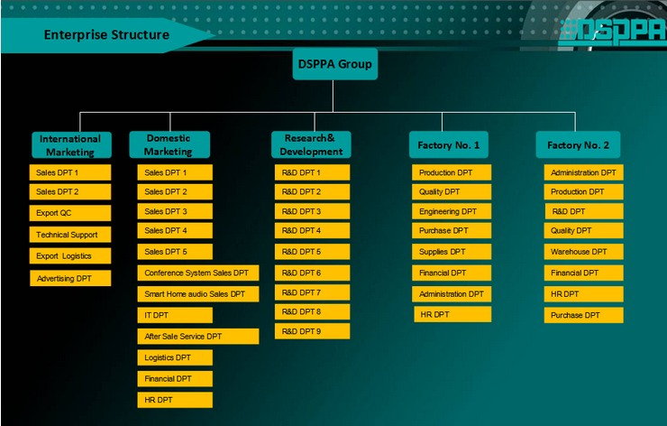 Enterprise Architecture Guangzhou Dsppa Audio Co Ltd